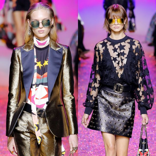 Elie Saab proposals for mirrored sunglasses trends