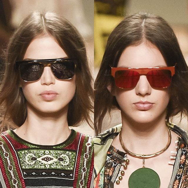 Etro proposals for mirrored sunglasses trends