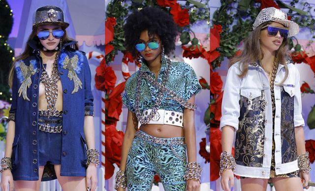 Philipp Plein's mirrored sunglasses trends
