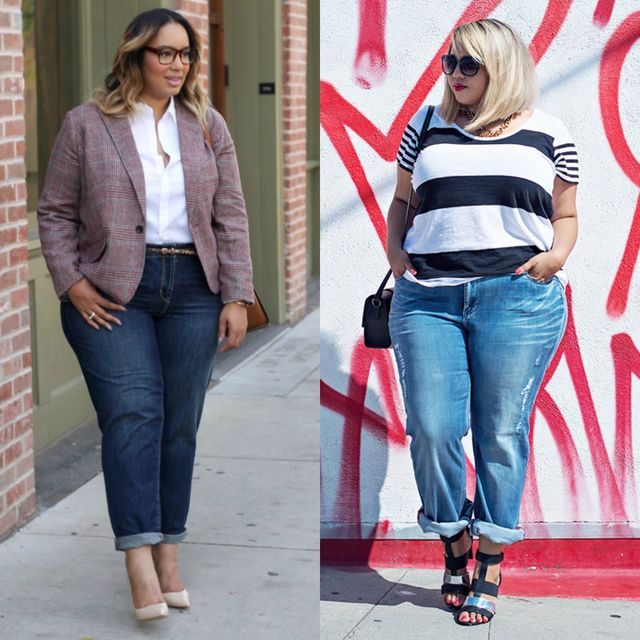 Spring plus size outfit ideas | Best jeans for spring plus size outfit