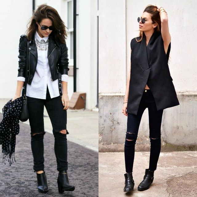 Club outfits with black jeans | Club outfits with jeans