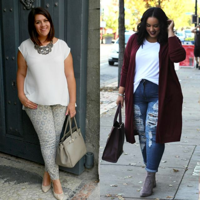 Spring plus size outfit ideas | Casual spring fashion outfits for women