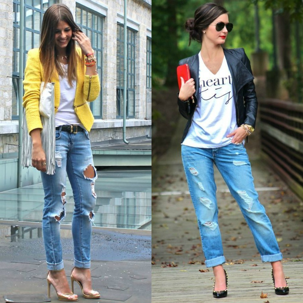 Club outfits with jeans | Club outfits with boyfriend jeans