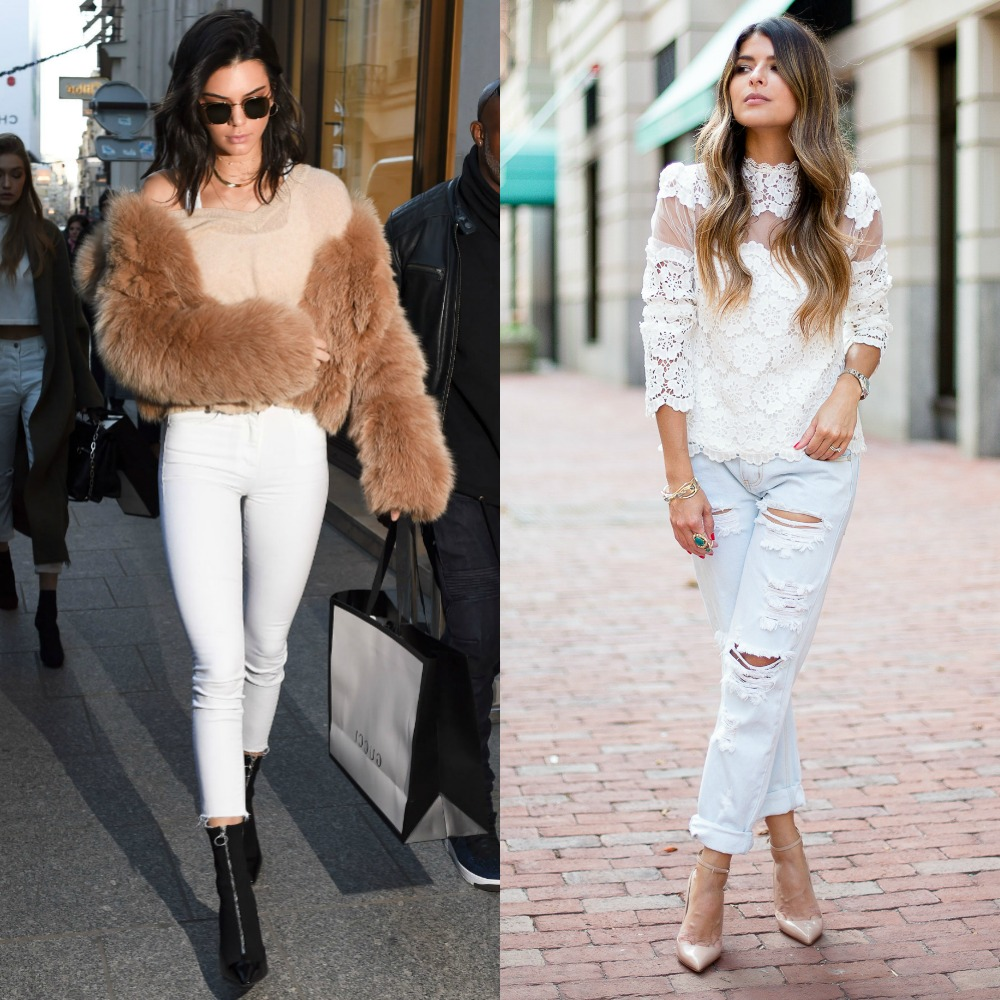 Club outfits with jeans | Club outfits with white jeans