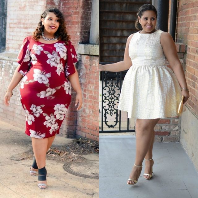 Spring plus size outfit ideas | Plus size dresses for special occasions