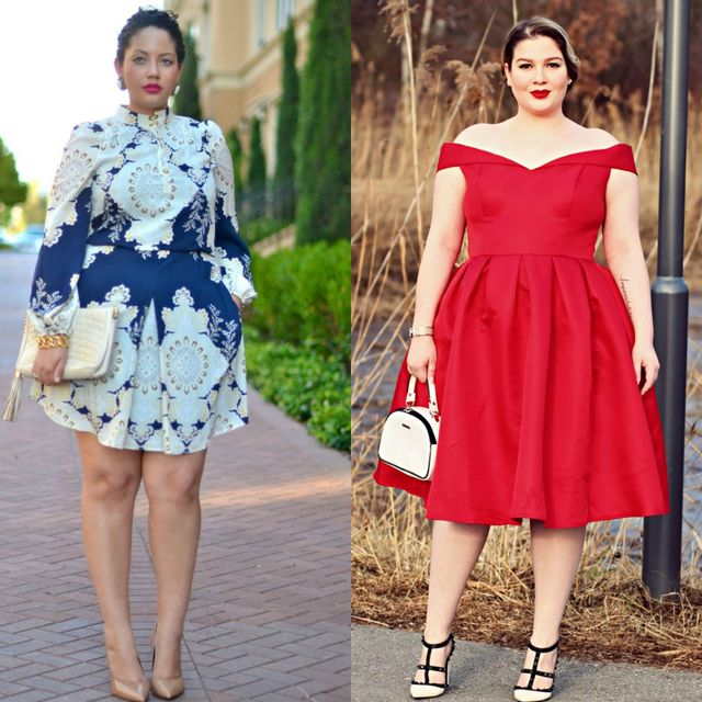 Spring plus size outfit ideas | Plus size dresses for ladies for special occasions