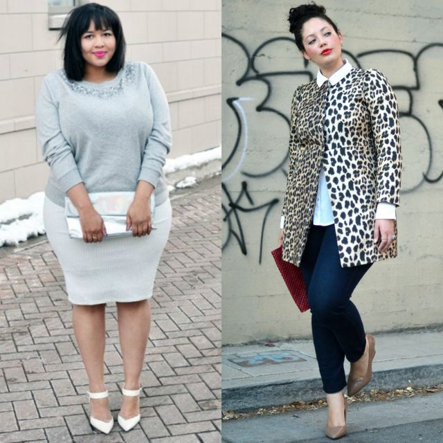 Spring plus size outfit ideas | Plus size business casual attire for women