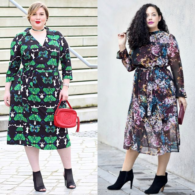 Spring plus size outfit ideas | Plus size spring dresses for women