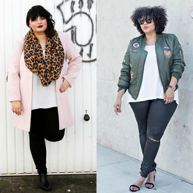 Spring plus size outfit ideas | Plus size outfit ideas with leggings