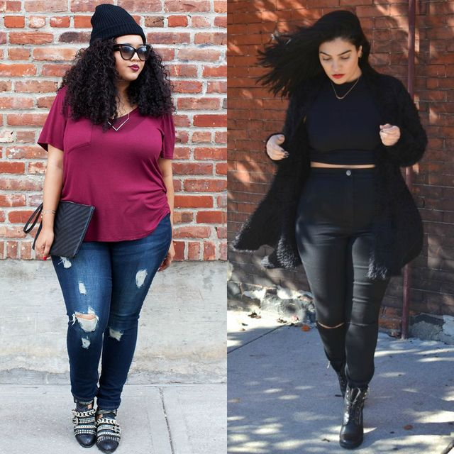 Spring plus size outfit ideas for women | Plus size spring outfit ideas with boots
