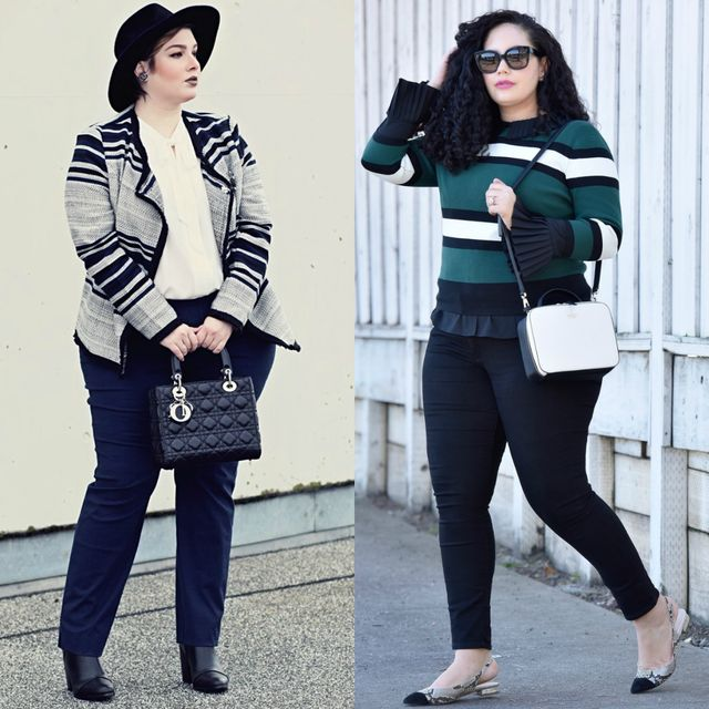 Spring plus size outfit ideas | Spring outfits with pants for plus size ladies