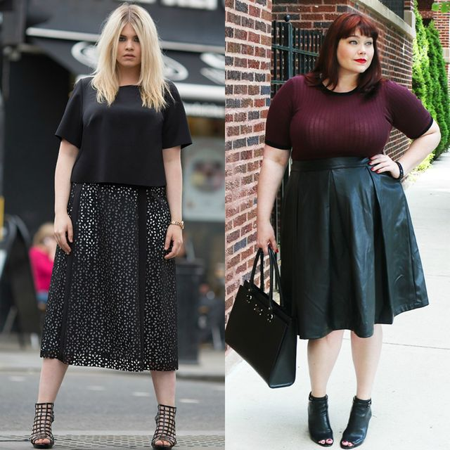 Spring plus size outfit ideas | Spring outfits with tops for plus size ladies