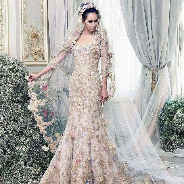 Best Wedding Dresses | Wedding dresses with flowers