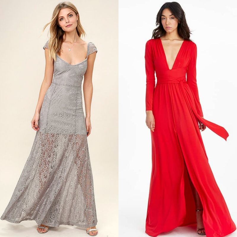 Evening dresses | Evening dresses with sleeves