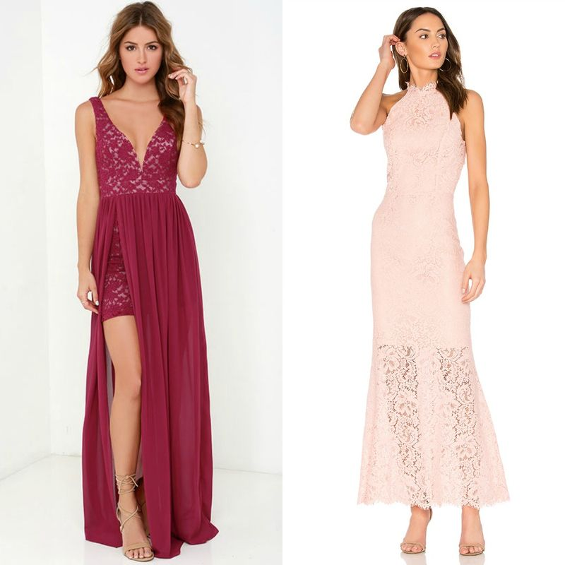 Evening dresses | Lace evening dresses