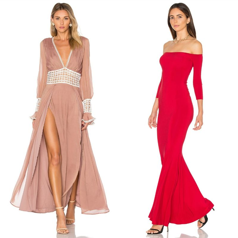 Evening dresses | Long sleeves evening dresses