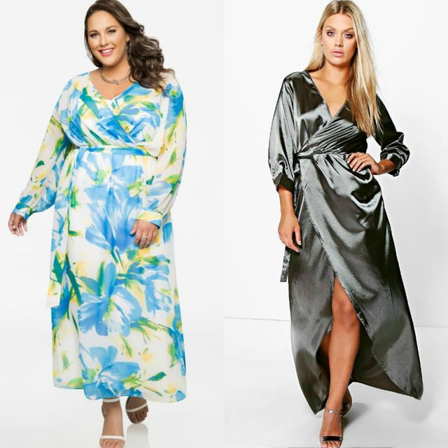 Best Ideas About Plus Size Maxi Dresses | Plus size maxi dress with long sleeves