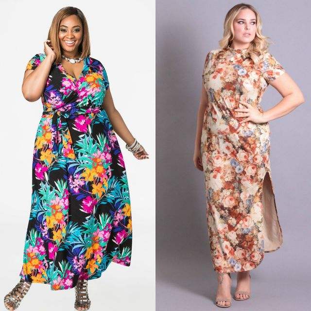 Best Ideas About Plus Size Maxi Dresses | Plus size maxi dress with short sleeves
