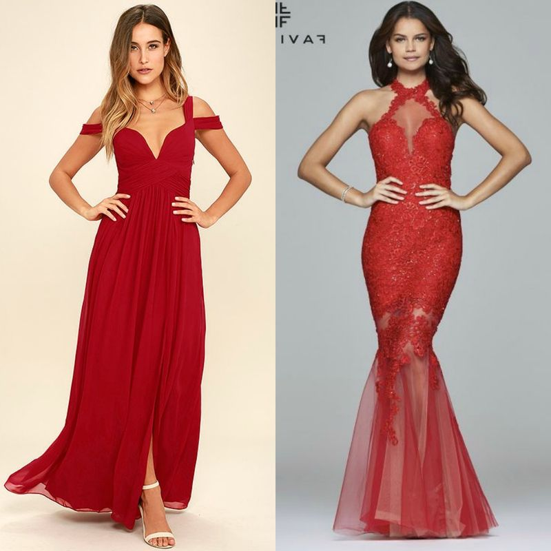 Evening dresses | Red evening dresses