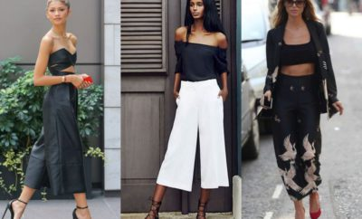 How To Wear Culotte Pants This Year