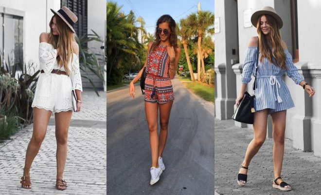 efdf41dab418 100 Style Tips  How To Wear Rompers In Summer