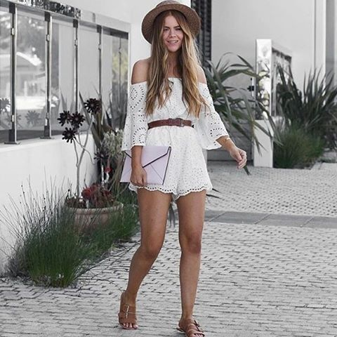 9d367e99f6e1 100 Style Tips  How To Wear Rompers In Summer