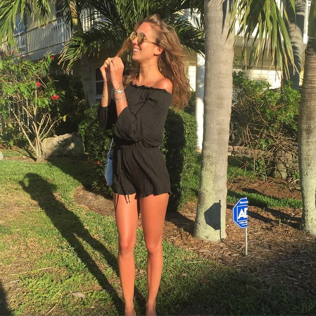 Long sleeve black romper outfit