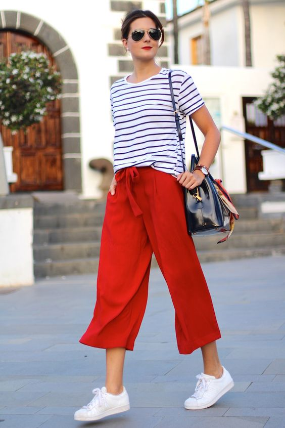 47 Style Tips About How To Wear Culottes Pants In Summer