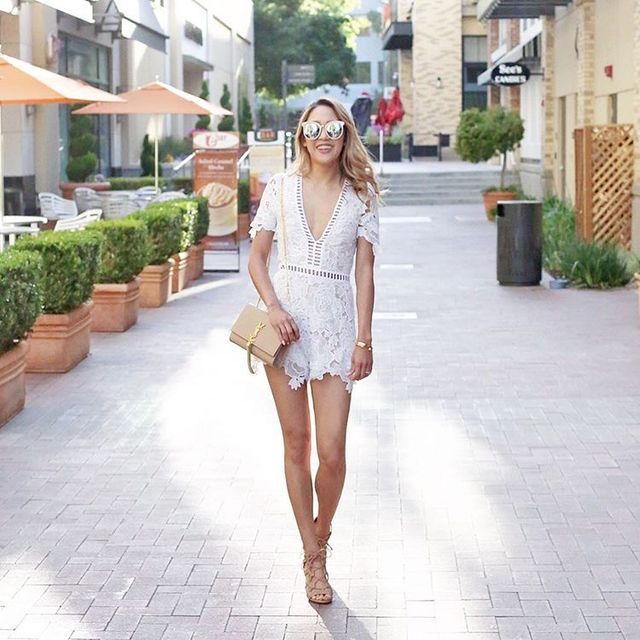 Style Tips About How To Wear a white lace romper