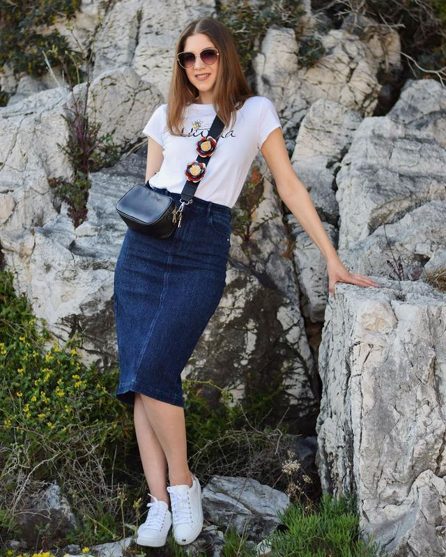 How To Style Summer Skirts | How to style a denim skirt?