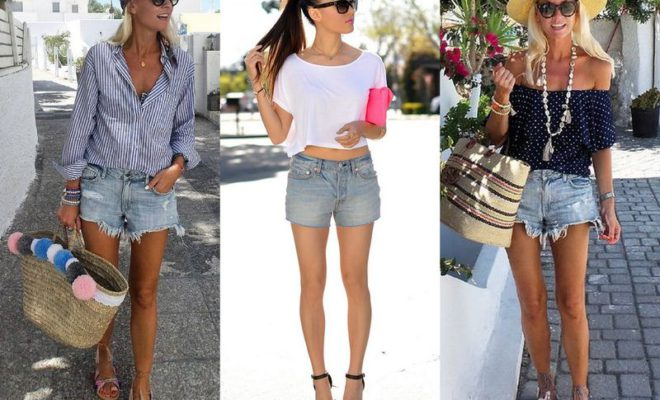 Jean Shorts Outfits