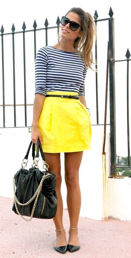 How To Style Summer Skirts | Right ways to wear mini skirts with sandals