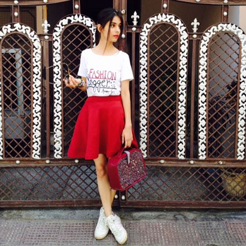 How To Style Summer Skirts | Style tips on how to wear skater skirts