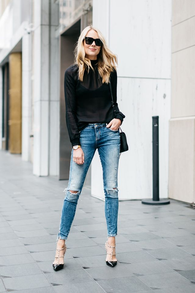 What To Wear With Blue Jeans | Style u0026 Tips For Women - GlossyU