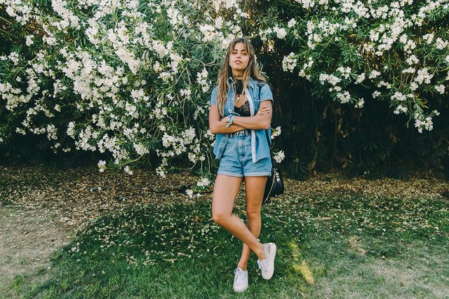 Double denim to inspire you in choosing your next summer festival outfits