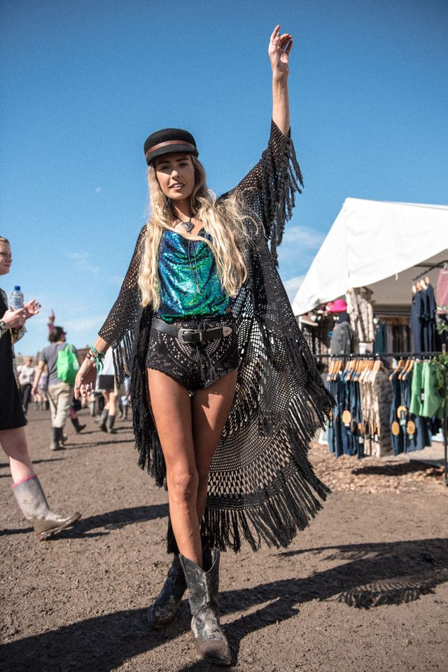 'Freedom of expressing your creativity' is the ultimate motto of these summer festival outfits