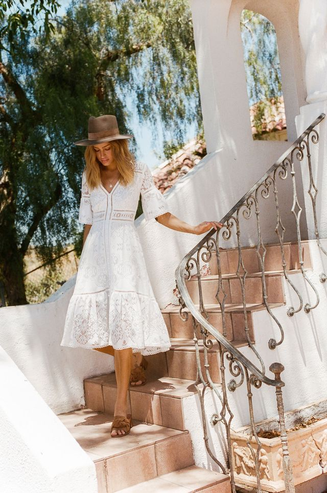 How about a lace dress for your next summer festival outfit