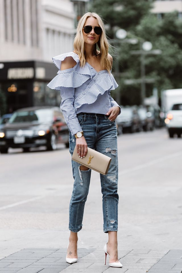What to wear with blue jeans | Tops to wear with jeans for going out