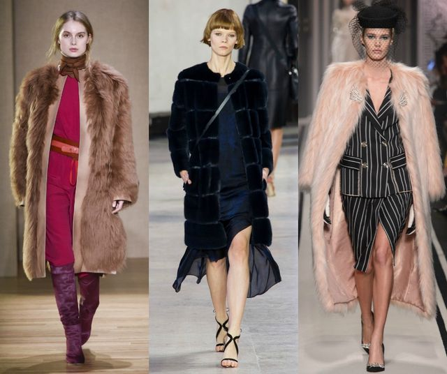 Fall Winter 2017 2018 Fashion Trends | Classic fur coats