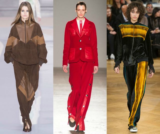 Fall Winter 2017 2018 Fashion Trends | Leisure suits