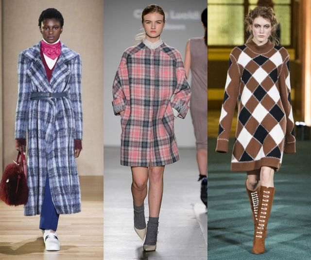 Fall Winter 2017 2018 Fashion Trends | Plaid