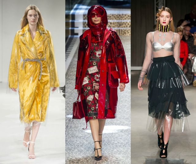 Fall Winter 2017 2018 Fashion Trends | Plastic