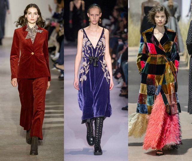 Fall Winter 2017 2018 Fashion Trends | Velvet