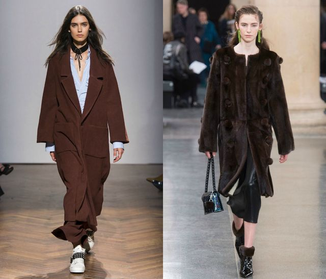 Chocolate Brown for fall color trends