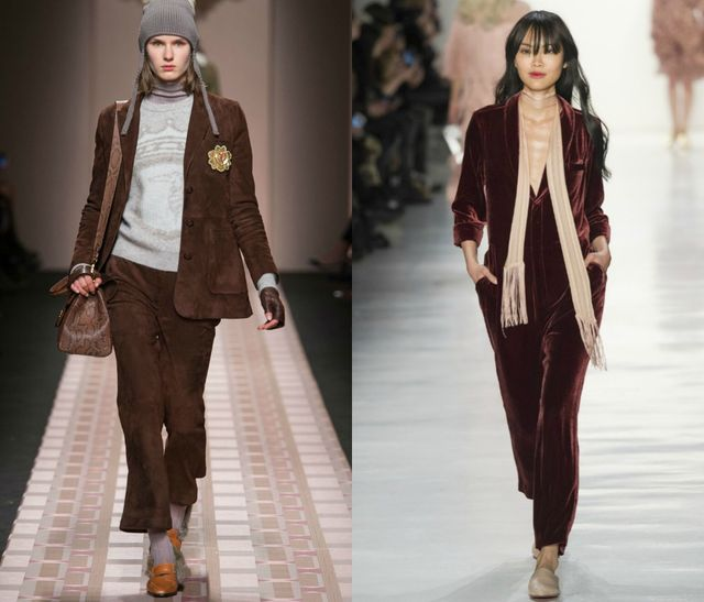 Chocolate Brown for fall winter 2017