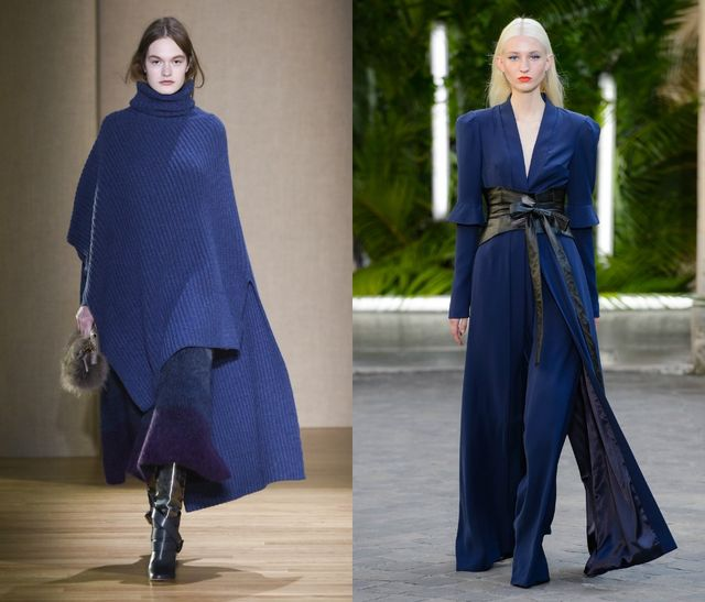 Deep Blue is the fall color in 2017