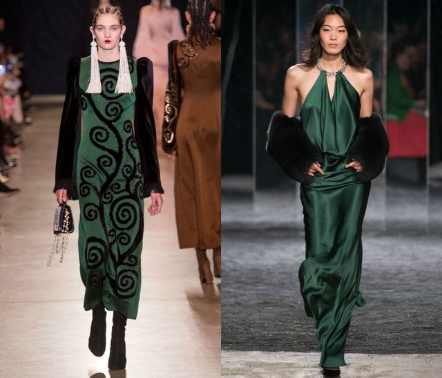 Green for fall winter season 2017