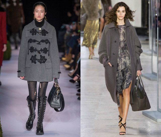 Grey for Fall Winter 2017 Color Trends