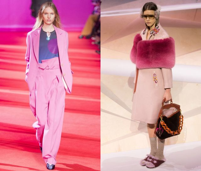 Dress Pink if you want to be in trend