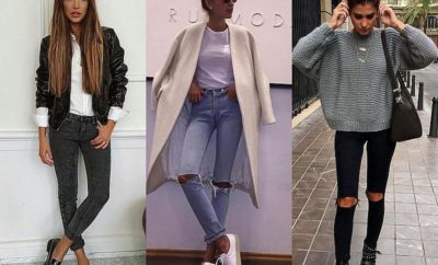 How to wear skinny jeans with boots